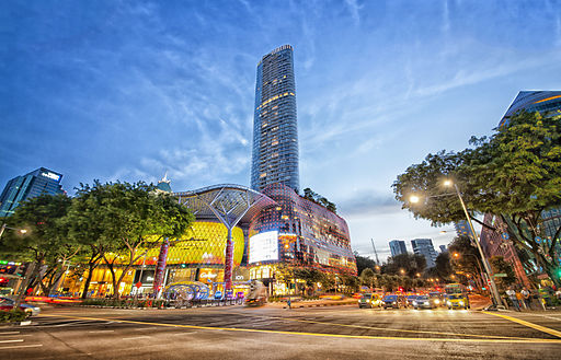 Best areas to stay in Singapore - Orchard Road