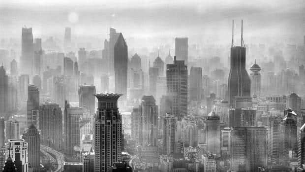 Vistas de Shanghái desde la Torre Jin Mao