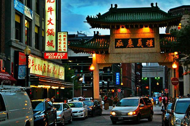 Best districts to stay in Boston - Theater District & Chinatown
