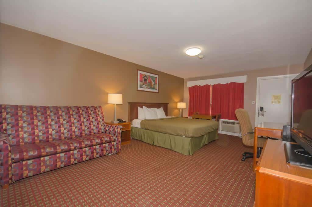 Los moteles son alternativas baratas a los hoteles, pero suelen estar en las afueras de la ciudad