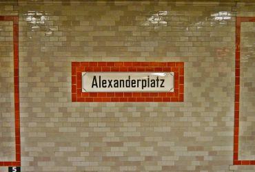 Alexanderplatz - Estación de U-Bahn