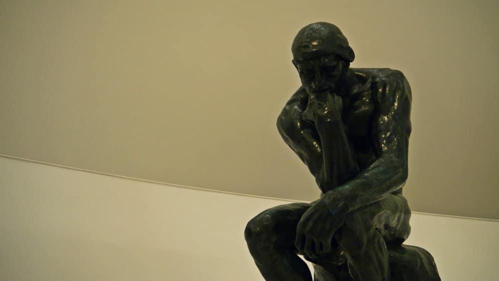 El Pensador de Rodin - Museo Soumaya CDMX