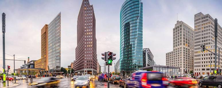 Mejores barrios para dormir en Berlín - Potsdamer Platz