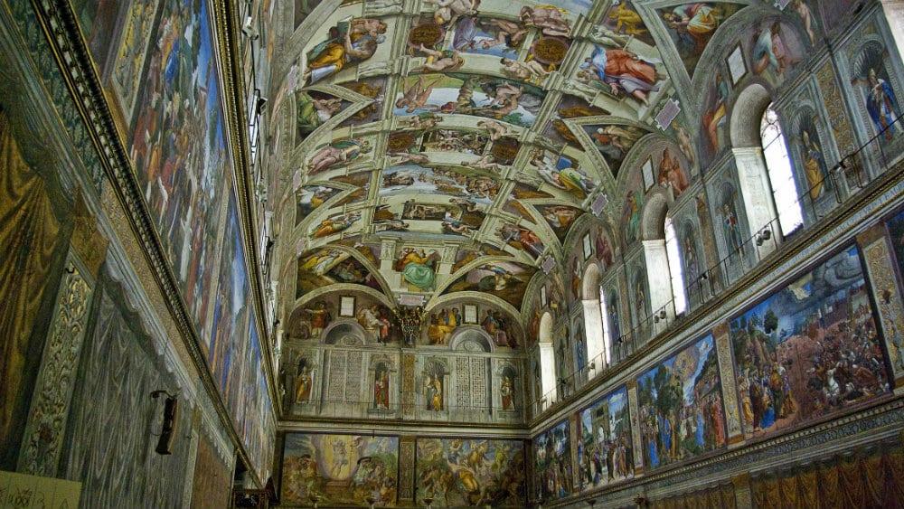 Qué ver en el Vaticano - Capilla Sixtina