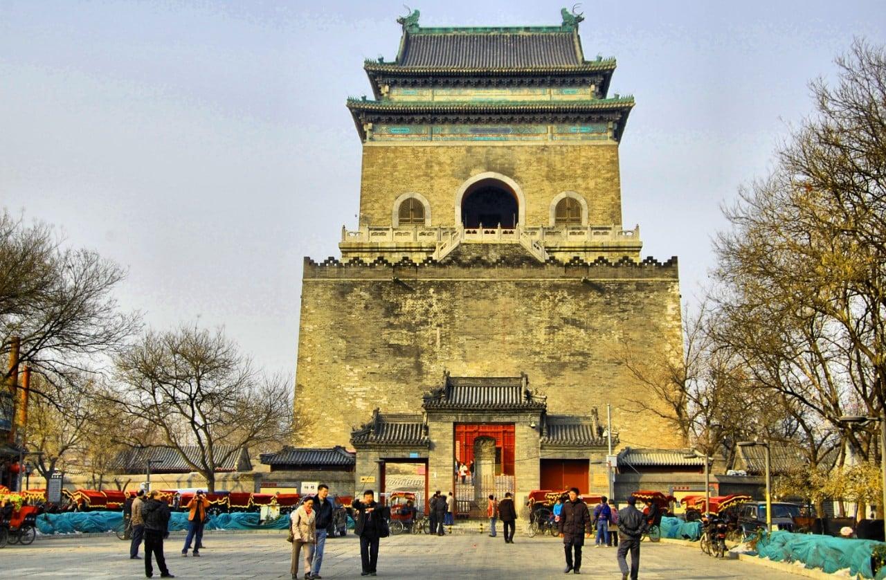 Atracciones de Beijing - Torre de la Campana