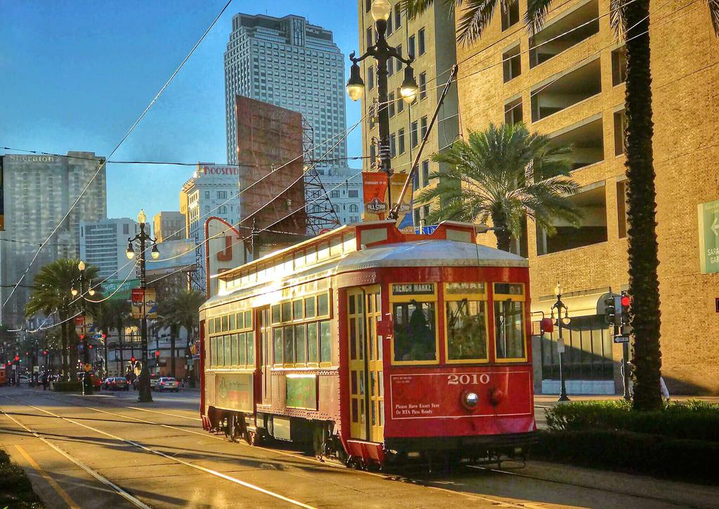 Transporte de Nueva Orleans