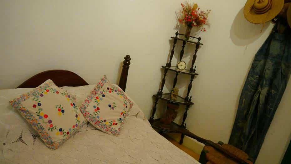 Dormitorio de la Casa Azul - Ciudad de México