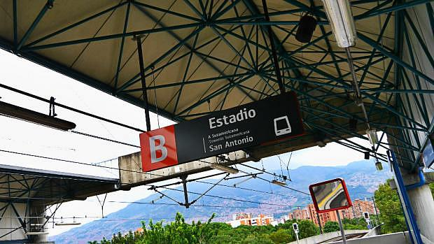 Estadio Station - Medellin's metro