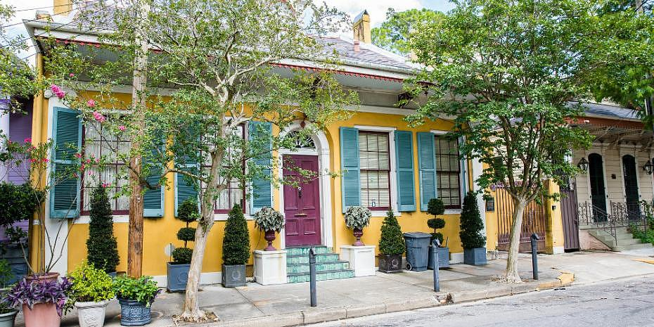 Best districts to stay in New Orleans - Fabourg Marigny