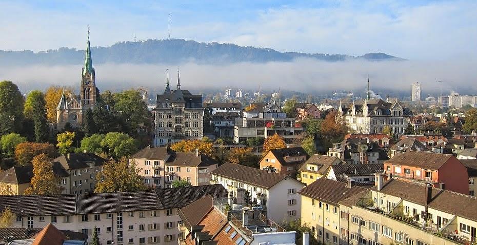 Best districts to stay in Zurich - Wiedikon & Sihfield