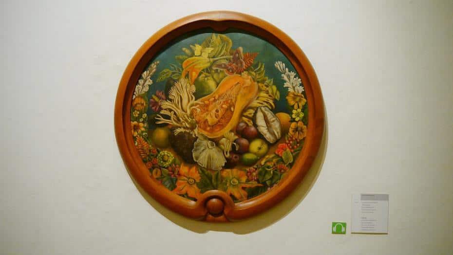 Naturaleza muerta - Obra de Frida Kahlo en el Museo La Casa Azul
