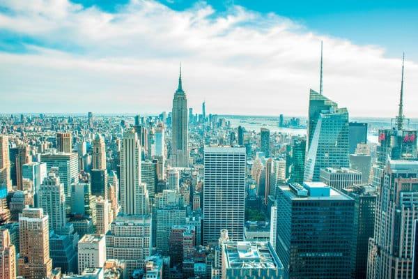 Vista de Manhattan desde el mirador de Top of the Rock - Nueva York