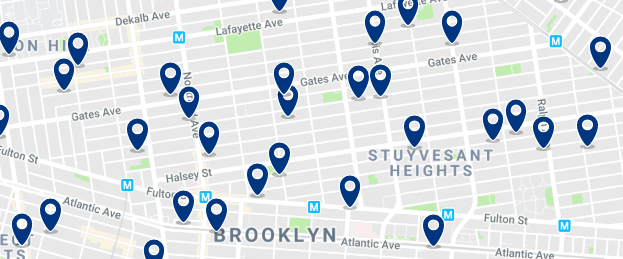 Brooklyn - Bed Stuy - Click here to see all hotels on a map