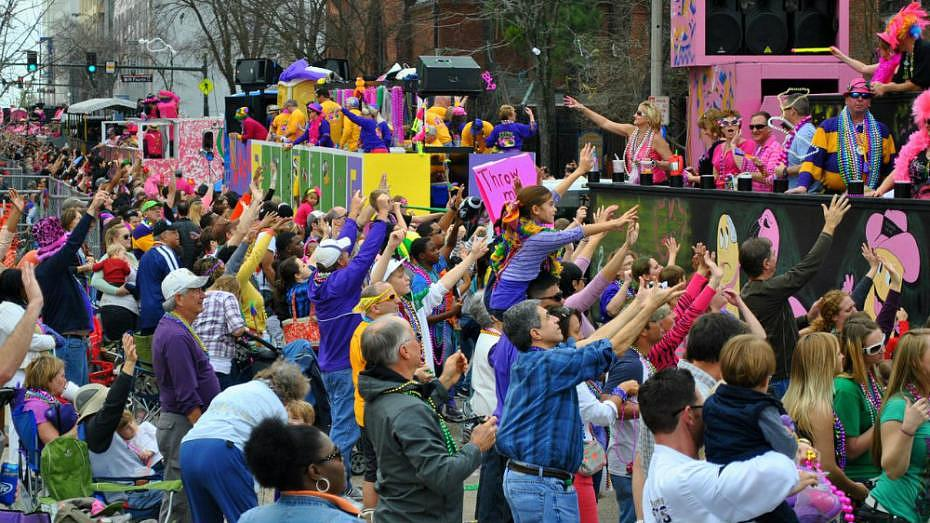 Spanish Town - Home of Baton Rouge's Mardi Gras