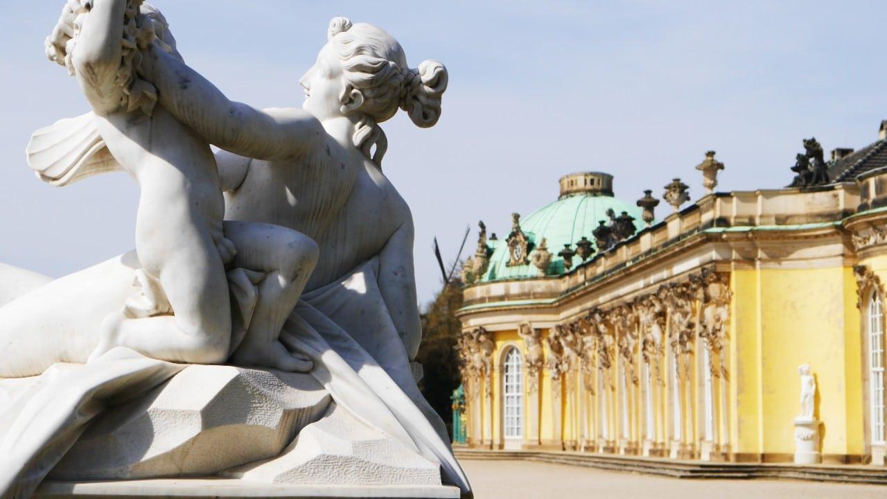 Consejos para viajar a Alemania - Palacio de Potsdam