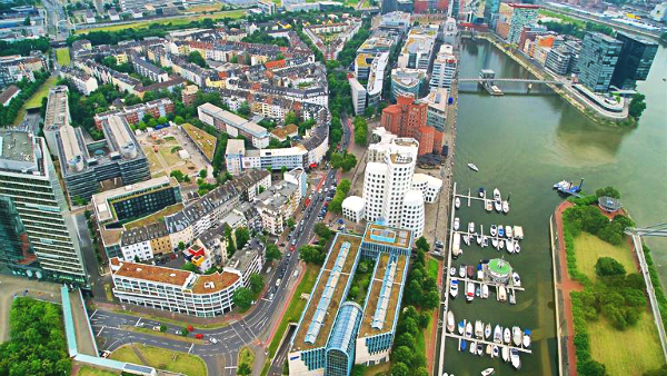 Look for accommodation in Hafen - One of the best areas to stay in Düsseldorf