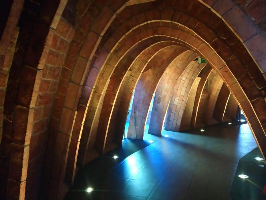 Arcos del desván - La Pedrera