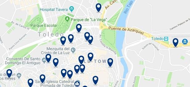 Toledo - Stazione ferroviaria - Clicca qui per vedere tutti gli hotel su una mappa