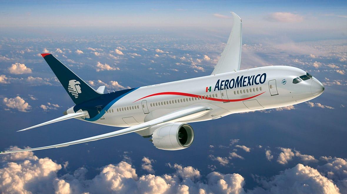 Aeroméxico es probablemente la mejor aerolínea para volar entre México y los Estados Unidos