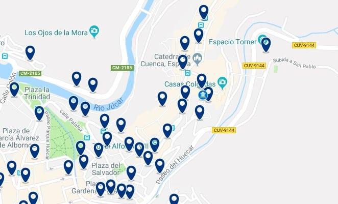 Cuenca - Centro Histórico - Haz clic para ver todos los hoteles en un mapa