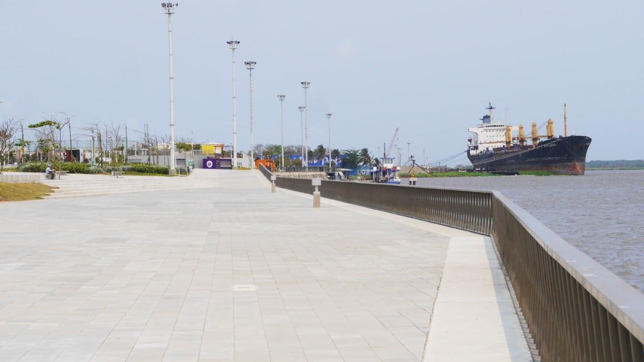 Qué ver en Barranquilla - Malecón Puerta de Oro