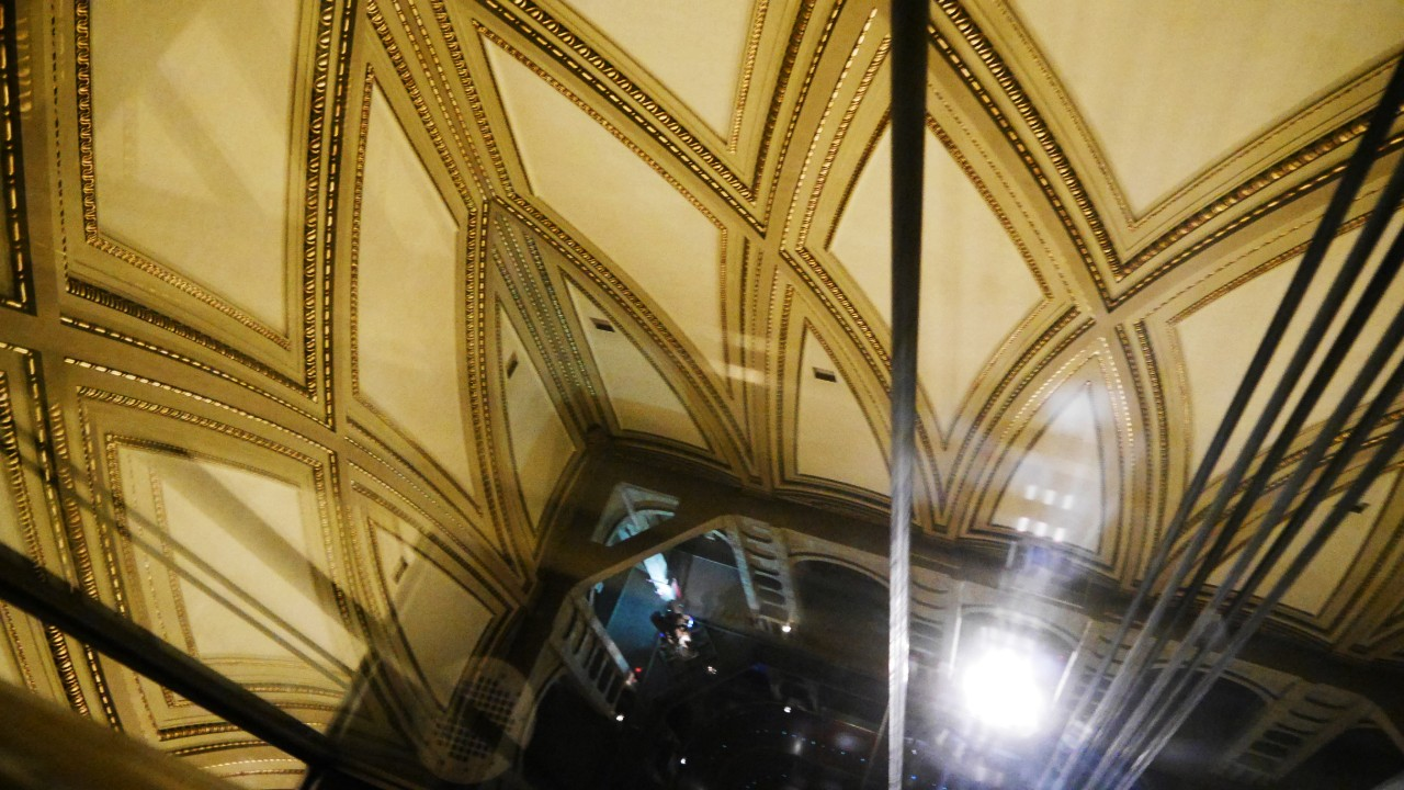 Ascensor y cúpula de la Mole Antonelliana