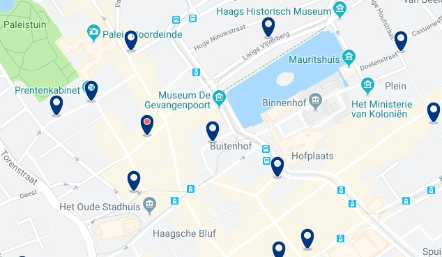 The Hague - Centrum - Click to see all hotels on a map