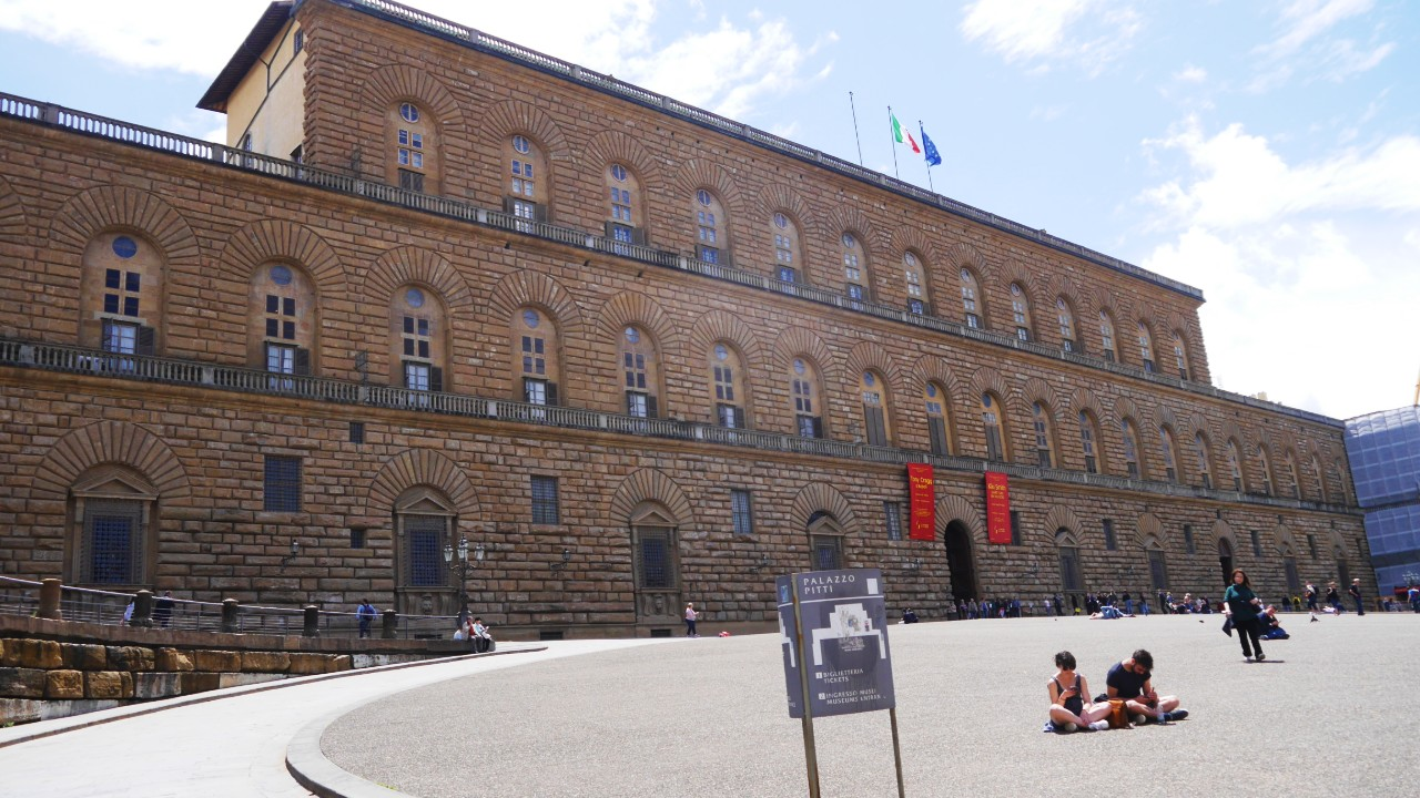 Best areas to stay in Florence - Near Palazzo Pitti