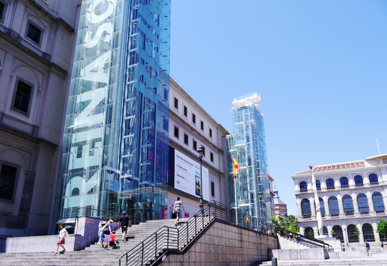 Best areas to stay in Madrid - Near Reina Sofía Museum