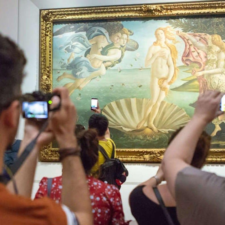 Saltarse las colas en Florencia - Galería degli Uffizi
