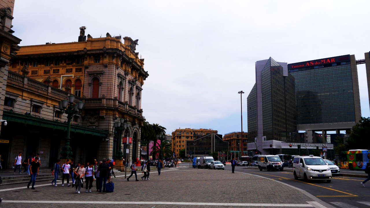 Reccommended area to stay in Genoa - Near Brignole statione