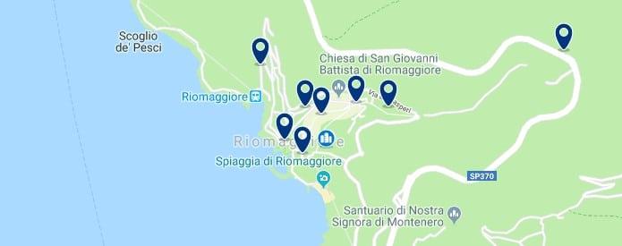 Cinque Terre - Riomaggiore - Click to see all hotels on a map