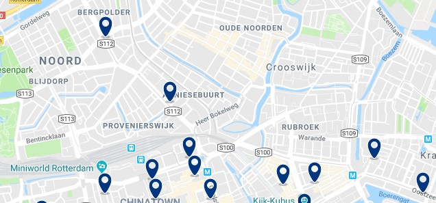 Rotterdam - Noord - Click to see all hotels on a map