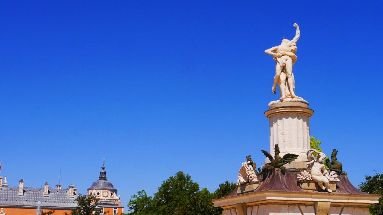 Fuente de Hércules y Anteo - Qué ver en Aranjuez