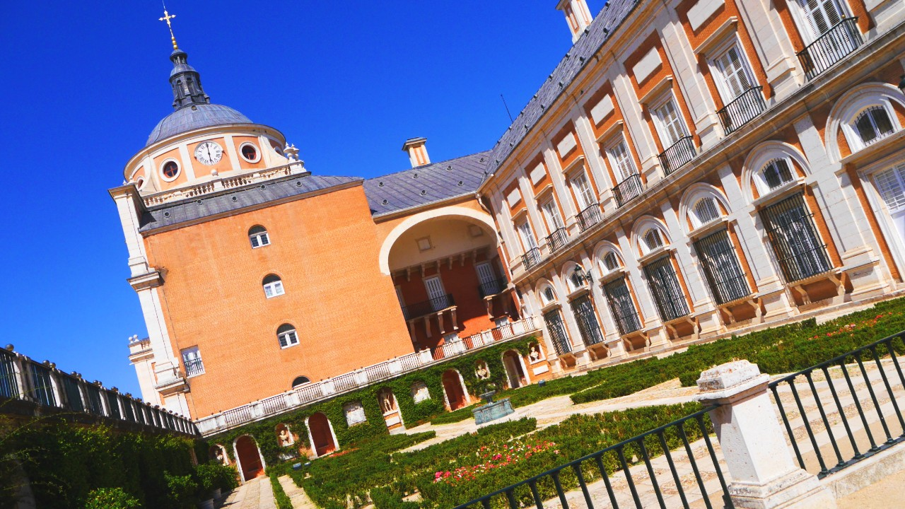 Jardín de las Estatuas del Palacio Real de Aranjuez