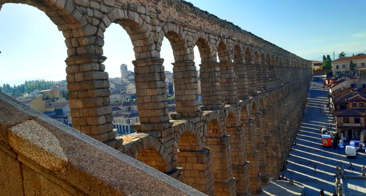 Atracciones de Segovia - Acueducto romano