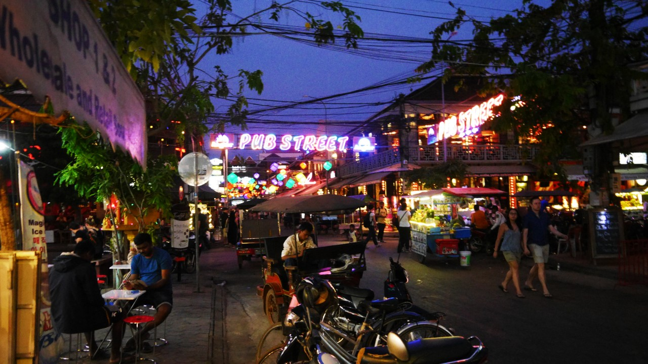 Best areas to stay in Siem Reap - Pub Street & City Center
