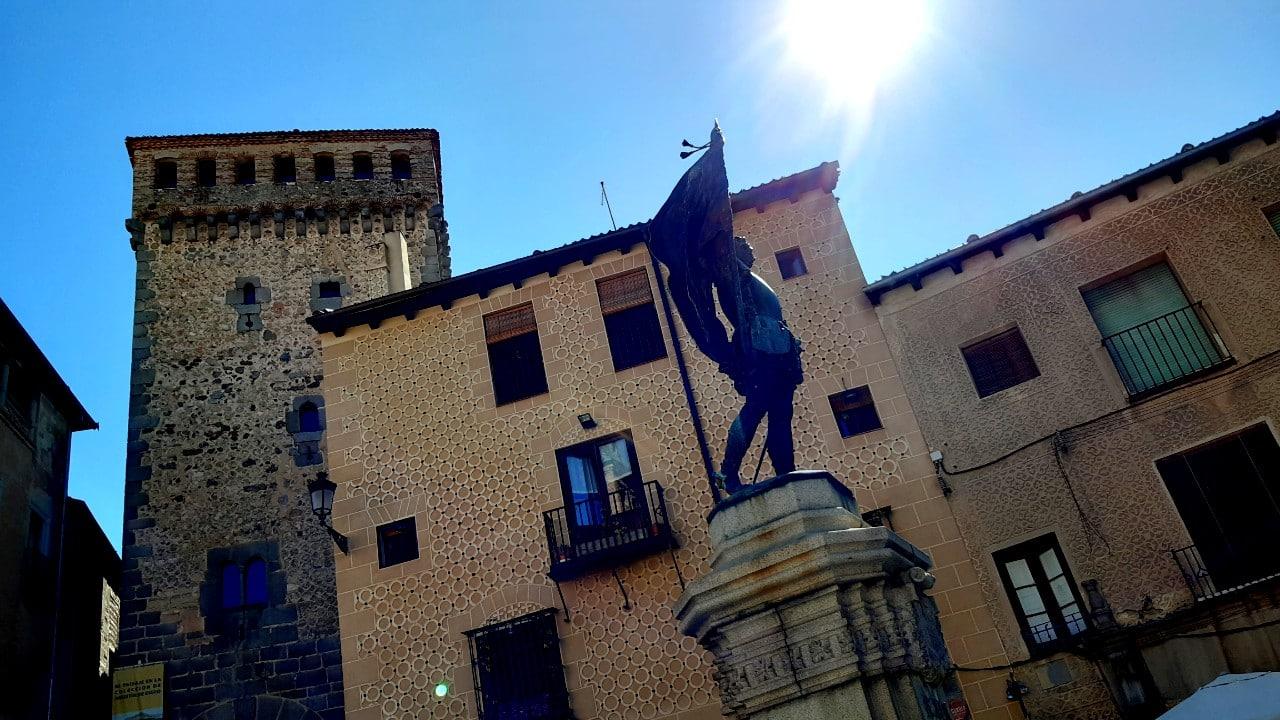 Plaza de San Martín - Atractivos de Segovia
