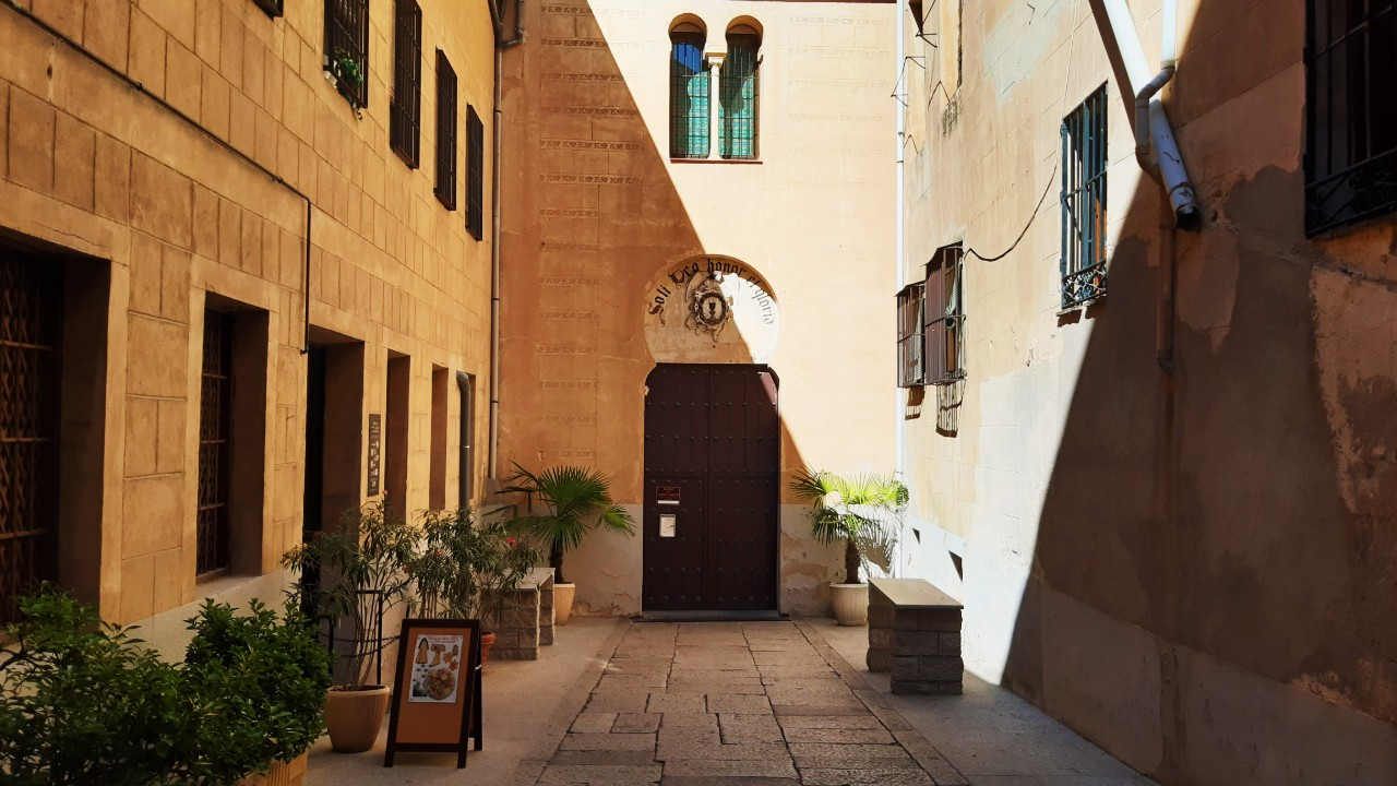 Sinagoga Mayor de Segovia, actual Iglesia del Corpus Christi