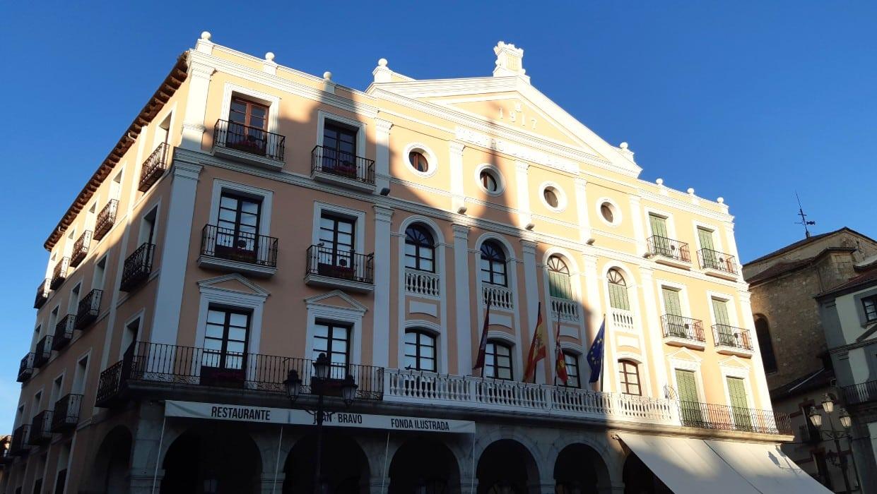 Teatro Juan Bravo, una de las atracciones culturas más importantes de Segovia