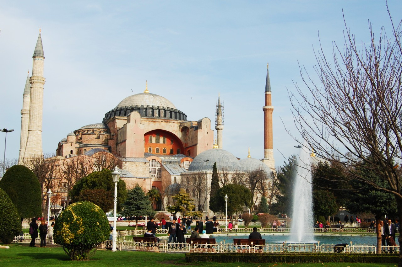 Best areas to stay in Istanbul - Near Hagia Sophia