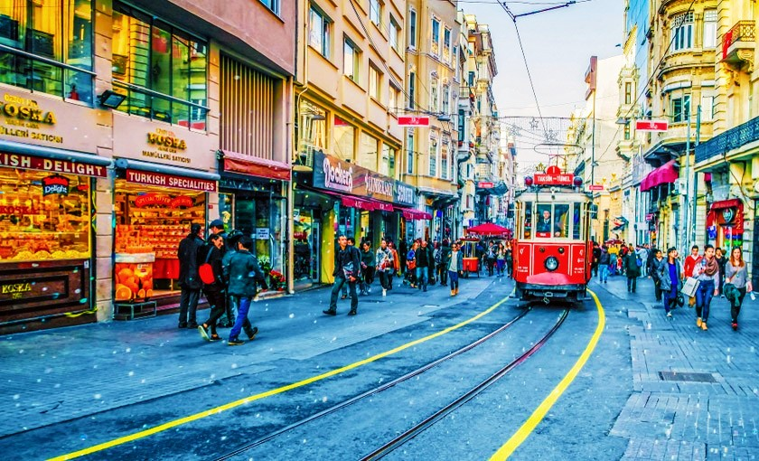 Best neighbourhoods to stay in Istanbul - Beyoglu
