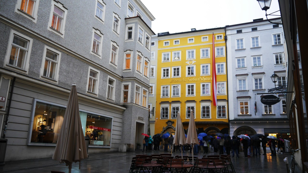 Where to stay in Salzburg - Altstadt or Old Town