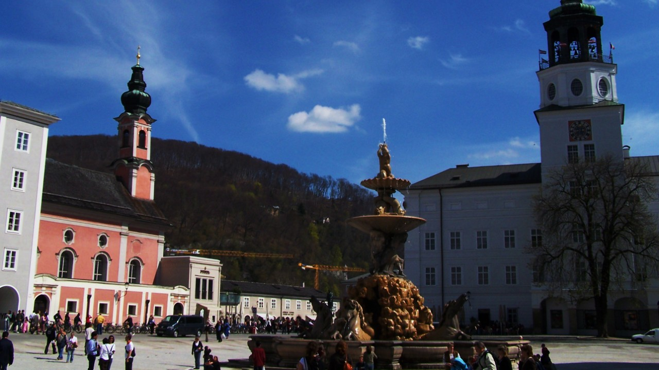 Reccommended area to stay in Salzburg - Old Town
