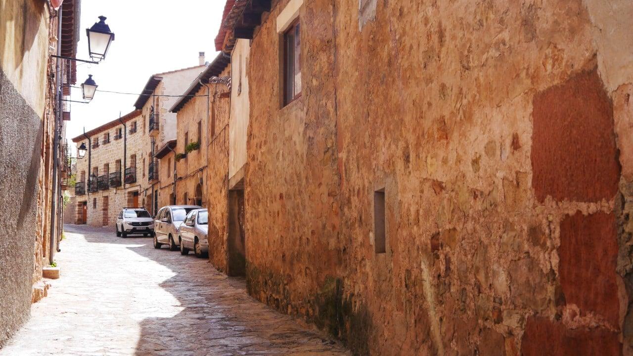 Calle de la antigua judería de Sigüenza