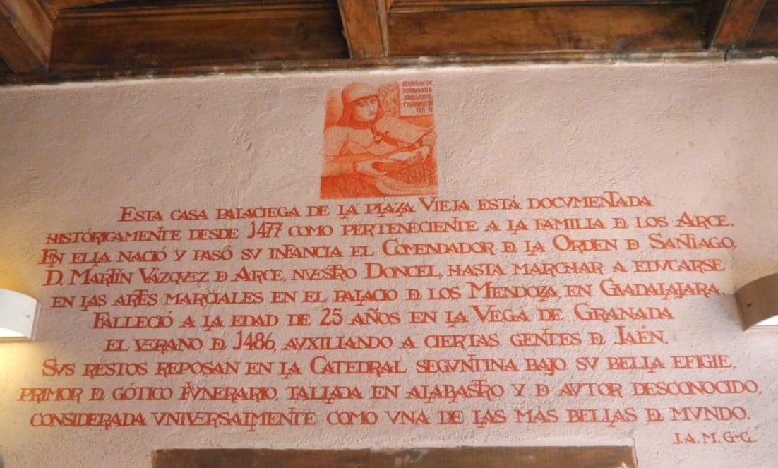 Casa del Doncel - Atracciones de Sigüenza, España