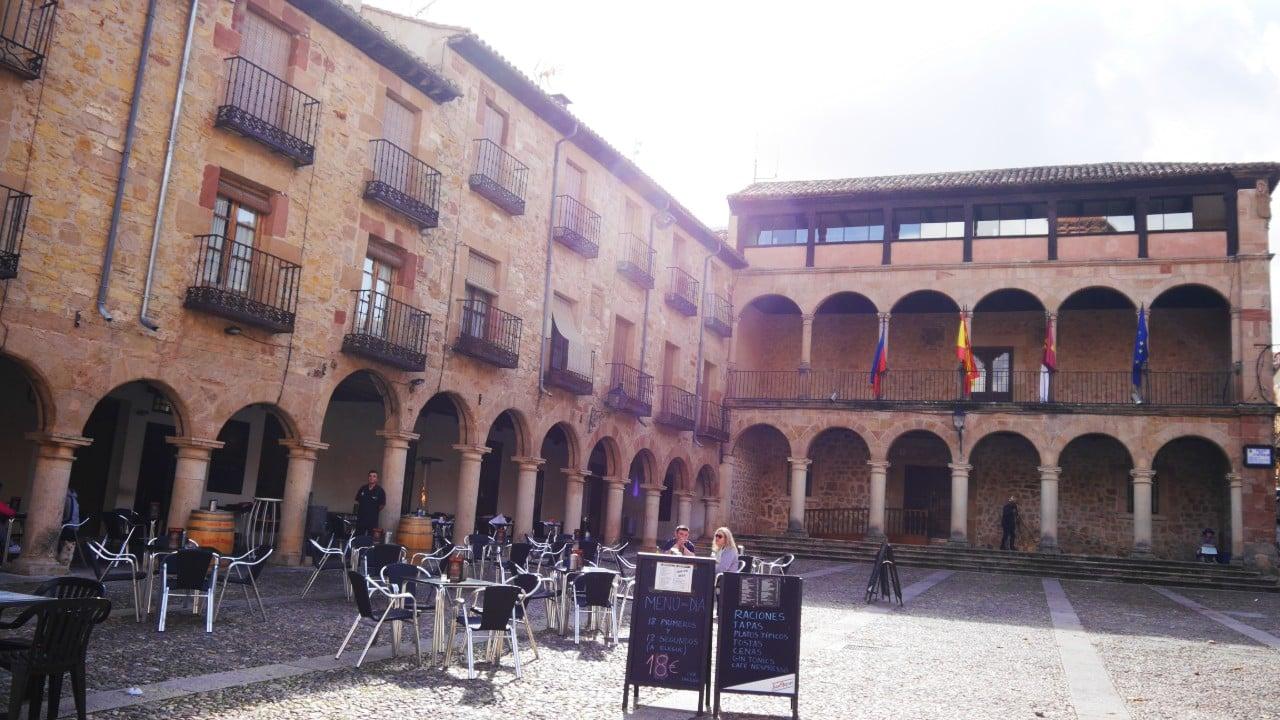 Plaza Mayor - Atractivos de Sigüenza