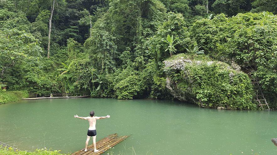 Blue Lagoon 5, Vang Vieng - Laos