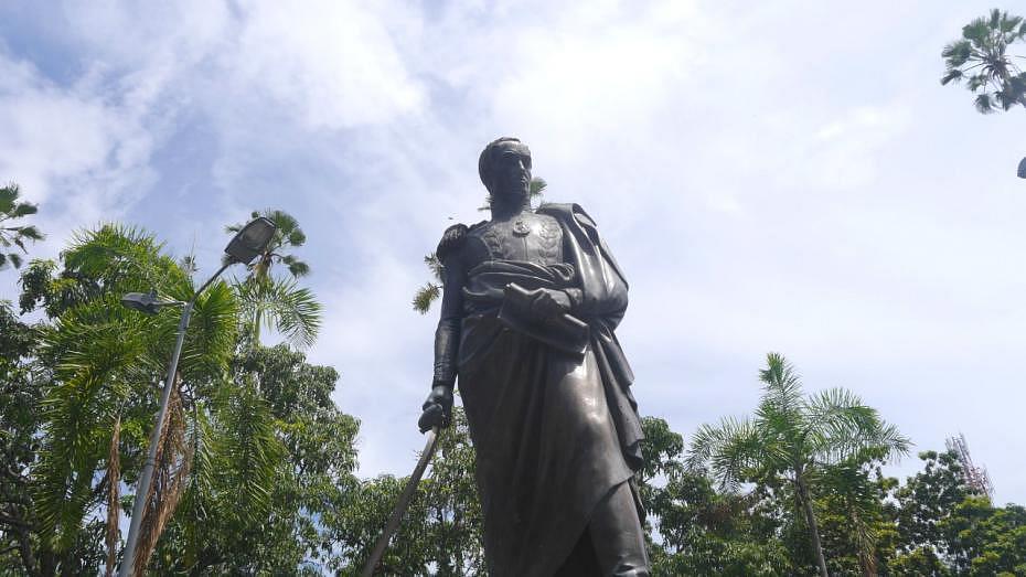 Atracciones de Cartago, Colombia - Parque Bolívar