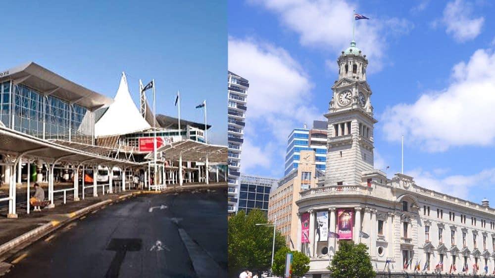 Cómo llegar del aeropuerto de Auckland al centro de la ciudad